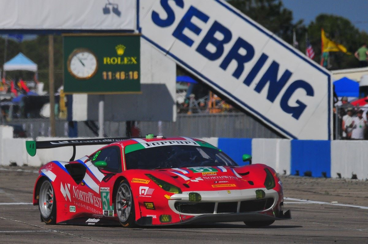 Sebring International Speedway Photo Car Racing
